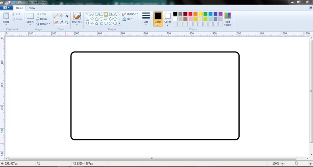 What Is MS paint and shortcutes