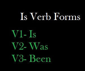 is verb forms
