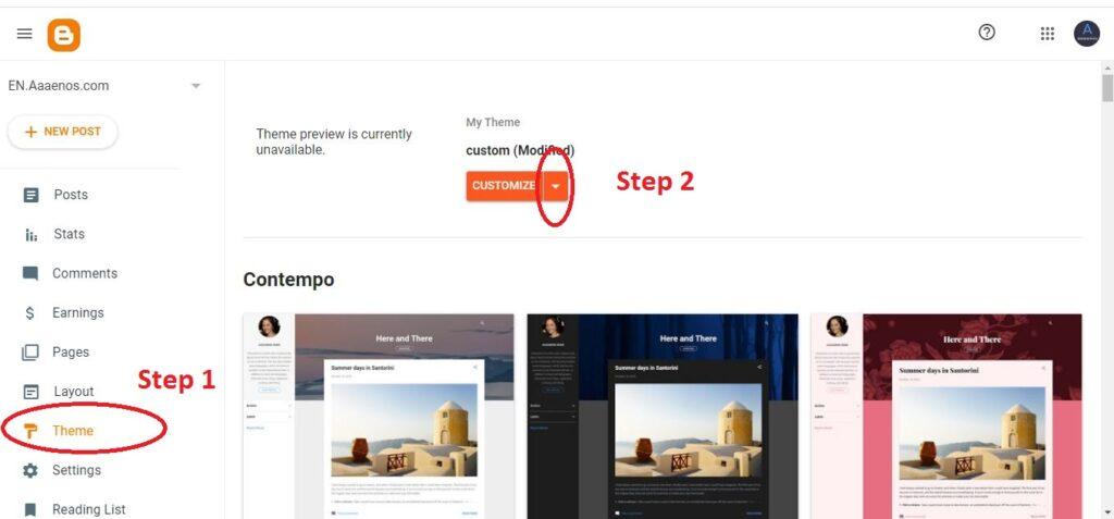 CT Blog - Responsive Blogger Template (Blogger Theme XML) 1