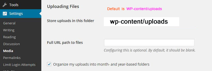 unable to create directory uploads/year/month. is its parent directory writable by the server?